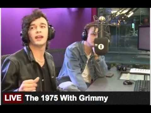 The 1975 // BBC Radio 1 Breakfast Show with Grimmy 15th October 2015 (part 3)