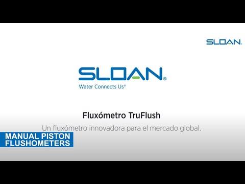 Sloan TruFlush Flushometer (Spanish)