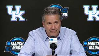 Press Conference: Kentucky vs. Auburn Elite Eight Postgame