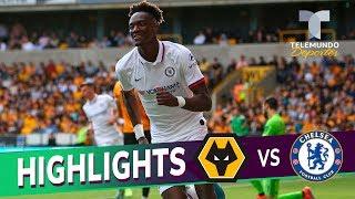 Wolverhampton vs. Chelsea: 2-5 Goals & Highlights   Premier League   Telemundo Deportes