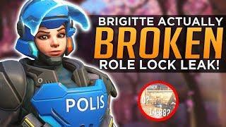 Overwatch: Brigitte is BROKEN! - OWL Caster Leaks Role Lock