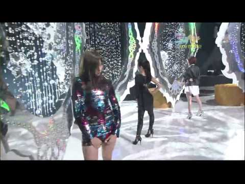 Girl's 4 (Hyuna,Uee,Gain&SeungYeon)+Taecyeon - Dance battle&My ear's candy