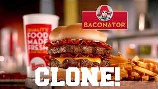 Wendy's Baconator Clone Dave's Cooking Speech