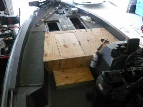 Bass Boat Restoration Project 30 Day Face Lift Youtube