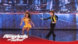 Yasha & Daniela - Amazing Kid Dancers Dance to Pitbull and Tina Turner - America's Got Talent 2013