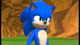 New Movie Sonic in Sonic World