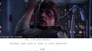 "Star Wars: The Empire Strikes Back | ""No, I Am Your Father."" - Script to Screen"