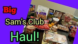 Huge Sam's Club Haul! Family of 5!