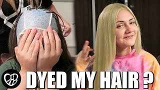DYED MY HAIR BLONDE FOR THE FIRST TIME (GONE WRONG) | DYING MY HAIR FAIL | PHILLIPS FamBam Vlogs