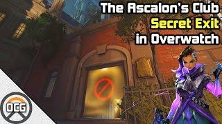 OCG - The Ascalon's Club Secret Exit in Overwatch