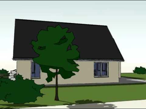 Voorbeeldplan nieuwbouw woningontwerp WB770 3D