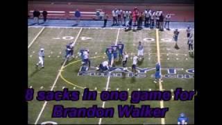 Thurgood Marshall H.S. Football Brandon Walker #4 Highlight Video 09