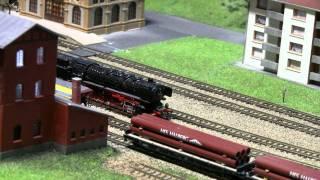 My N-scale model raliway