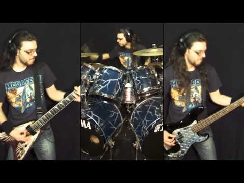 Megadeth - Foreclosure of a Dream (Drums, Bass & Guitar cover) [HD]