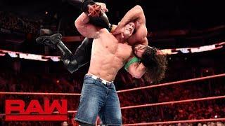 John Cena vs. Seth Rollins - Seven-Man Gauntlet Match Part 2: Raw, Feb. 19, 2018