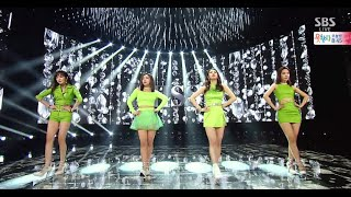 """miss A """"다른 남자 말고 너(Only You)"""" Stage @ SBS Inkigayo 2015.04.19"""