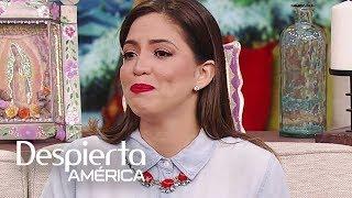 Pamela Silva llora al recordar a su abuela hablar de su padre (al que no conoció)