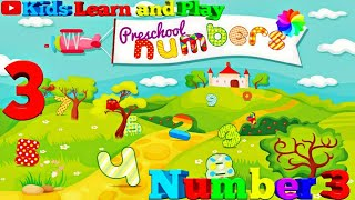 Learn Numbers For Kids, Educational videos for preschoolers | Kids Learn and Play