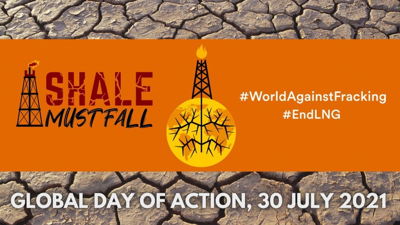 LIVE: End fracking, end climate colonialism! Shale Must Fall! Global Day of Action