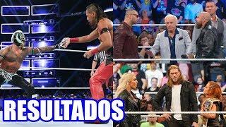 RESULTADOS DE WWE SMACKDOWN 1000 (16 DE OCTUBRE DE 2018)