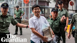 Hong Kong activist Joshua Wong released from jail: 'President Xi, we will not keep silent'