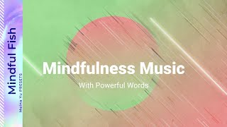 30Min Meditation with Powerful Word:Calming Sleep Music, Relaxing Music, Peaceful Music for Sleeping