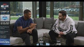 Russell Wilson & Baker Mayfield QB2QB | NFL Live | Apr 17, 2018