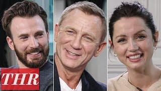 Chris Evans, Daniel Craig, Ana de Armas & More 'Knives Out' Cast Play Fishing for Answers | TIFF