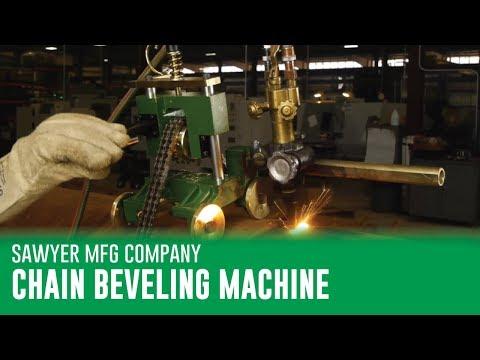 Sawyer Chain Beveling Machine