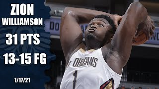 Zion Williamson erupts for 31 points [HIGHLIGHTS] | NBA on ESPN
