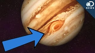 Why Does Jupiter Have A Red Spot?