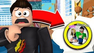 ROBLOX HIDE AND SEEK CHALLENGE! LITTLE BROTHER vs WIFE vs PrestonRoblox!