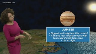 Jupiter will be its biggest and brightest in June