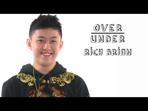 Rich Brian Rates Fanny Packs, Ramen Burgers, and Illegal Farting   Over/Under