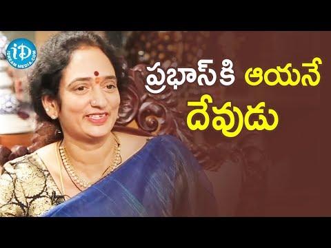 Krishnam Raju's wife Syamaladevi about her husband and Prabhas