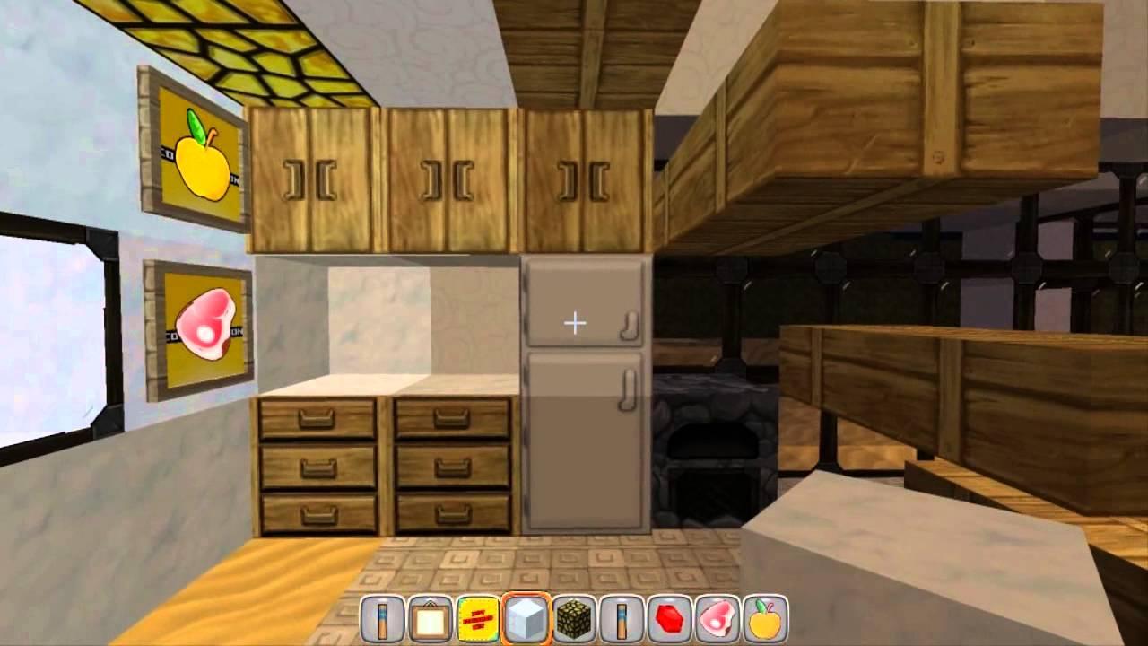Casa moderna minecraft com textura super pica youtube for Casa moderna 4x4