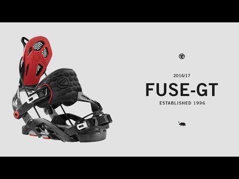 Flow Fuse-GT Snowboard Bindings Black 2019