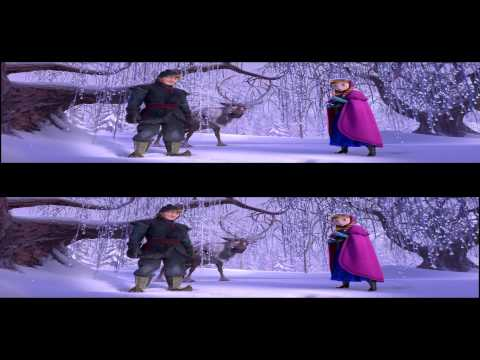 Frozen Trailer 2 in 3d Russian