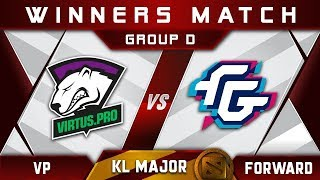 VP vs Forward Kuala Lumpur Major KL Highlights Dota 2
