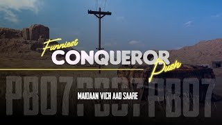 conqueror rank push  [Funny Moments]  Indian Live Stream [Hindi]  PUBG MOBILE LIVE