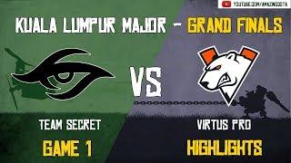 [Highlights] Team Secret vs Virtus Pro | GAME 1 - Grand Finals - BO5 | The Kuala Lumpur Major