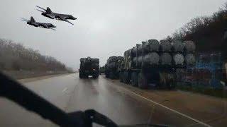 Hàng ngàn tên lửa Nga ĐỔ về CRime -ngay khi Ukraine Tuyên bố nóng