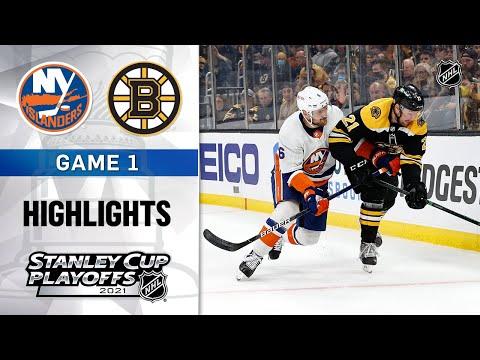 Second Round, Gm 1: Islanders @ Bruins 5/29/21 | NHL Highlights