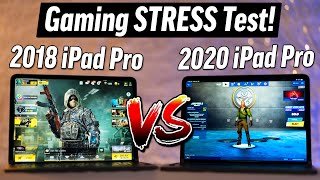 2018 vs 2020 iPad Pro - 120FPS Gaming Battery Life Test!