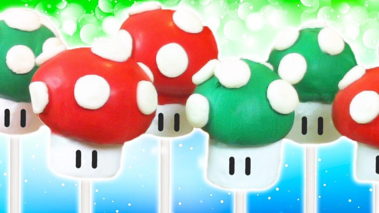 Nerdy Nummies Mario Cake Pops