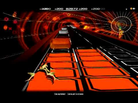 Audiosurf: Decapitated - Sensual Sickness