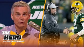 What McCarthy flourishing in Dallas could mean for Rodgers, Colin talks Sam Darnold | NFL | THE HERD
