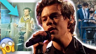 Harry Styles CAUGHT Recording New Music For Upcoming Film! | Hollywire