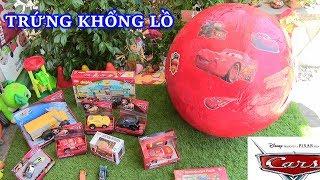 Do Choi Tre Em, Boc Trung TRỨNG KHỔNG LỒ CARS 3 MỞ TRỨNG KHỔNG LỒ XE ÔTO VÀ LEGO NHIỀU LOẠI