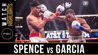 Spence vs Garcia HIGHLIGHTS: March 16, 2019 - PBC on FOX PPV - YouTube